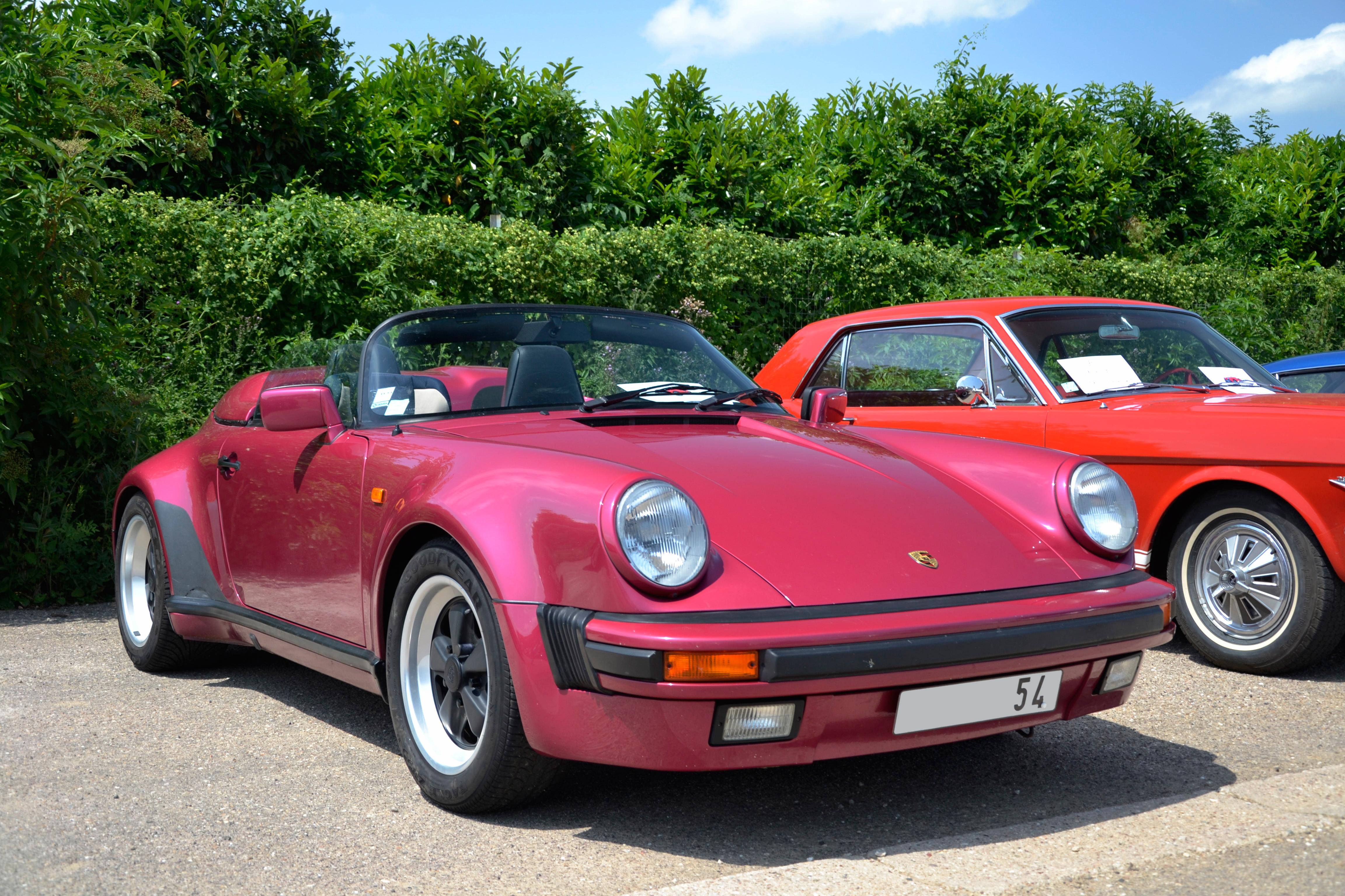 Porsche 911 Speedster Technical Details History Photos