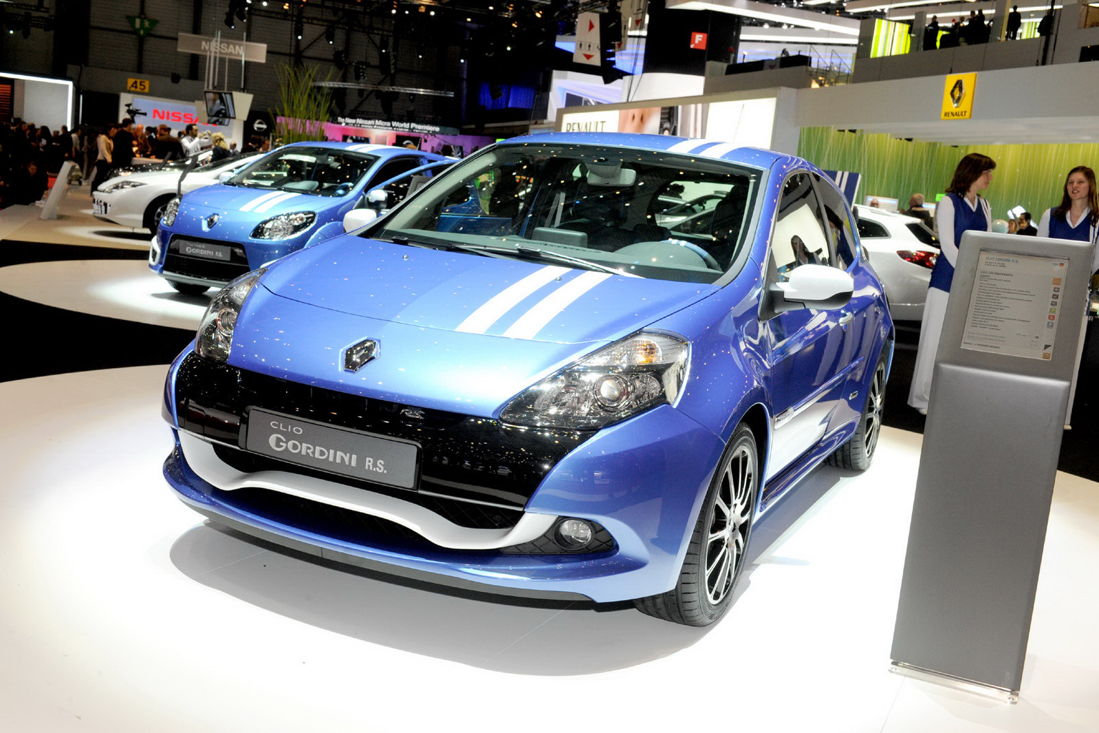 Renault Clio Gordini photo 02