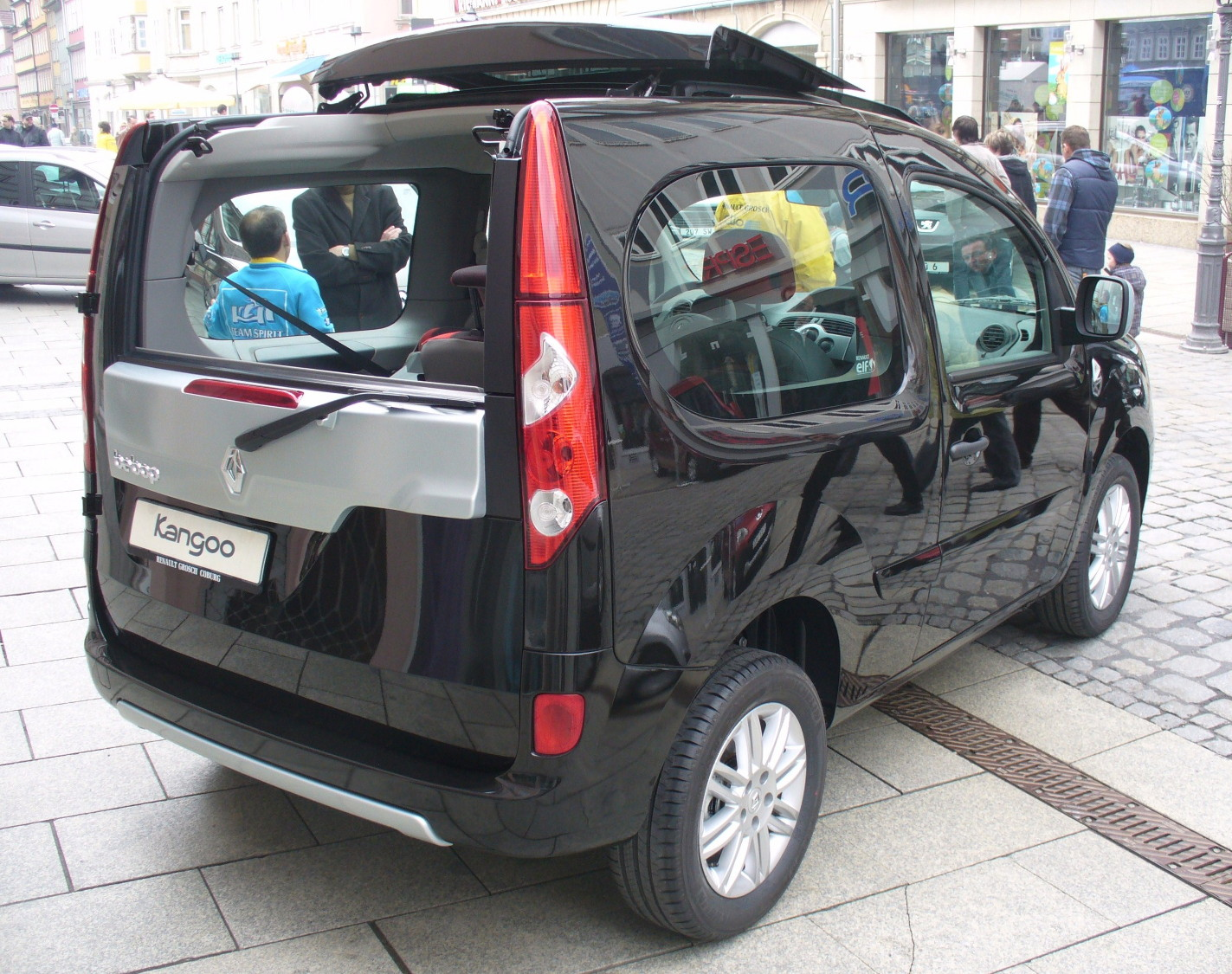 renault kangoo be bop technical details history photos. Black Bedroom Furniture Sets. Home Design Ideas
