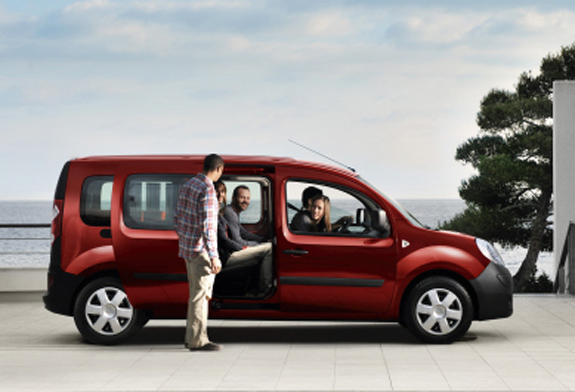 renault kangoo rapid maxi technical details history. Black Bedroom Furniture Sets. Home Design Ideas