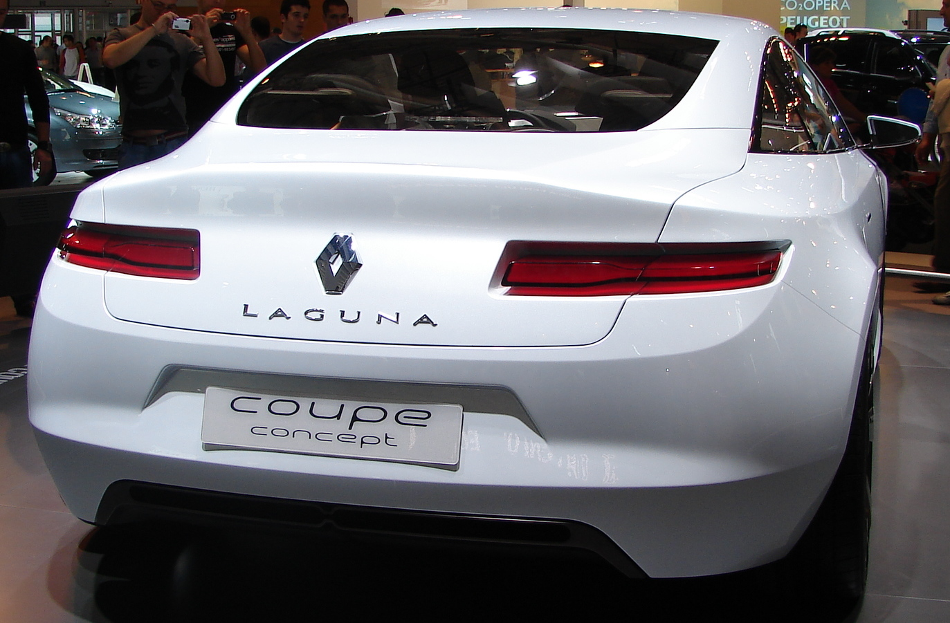 Renault Laguna Coup technical details history photos on Better
