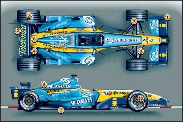 Renault R 25 photo 06