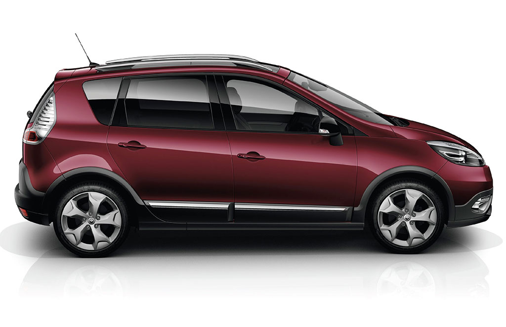 Renault scenic xmod technical details history photos on better parts ltd