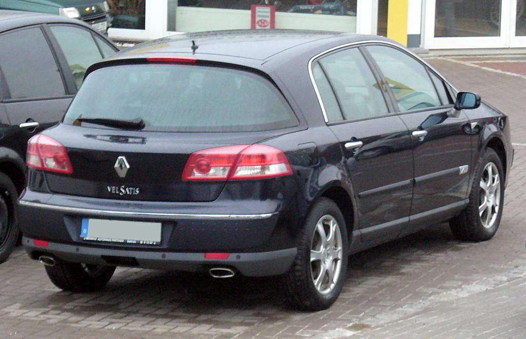 Renault Vel Satis technical details, history, photos on Better ...