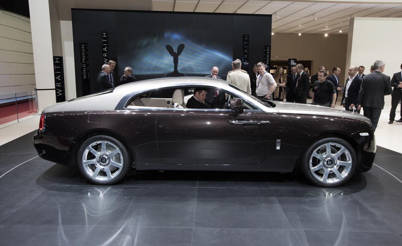 Rolls-Royce Wraith photo 14