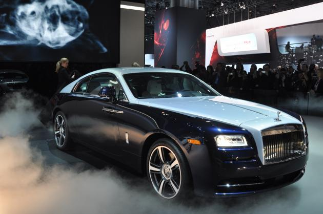 Rolls-Royce Wraith photo 15