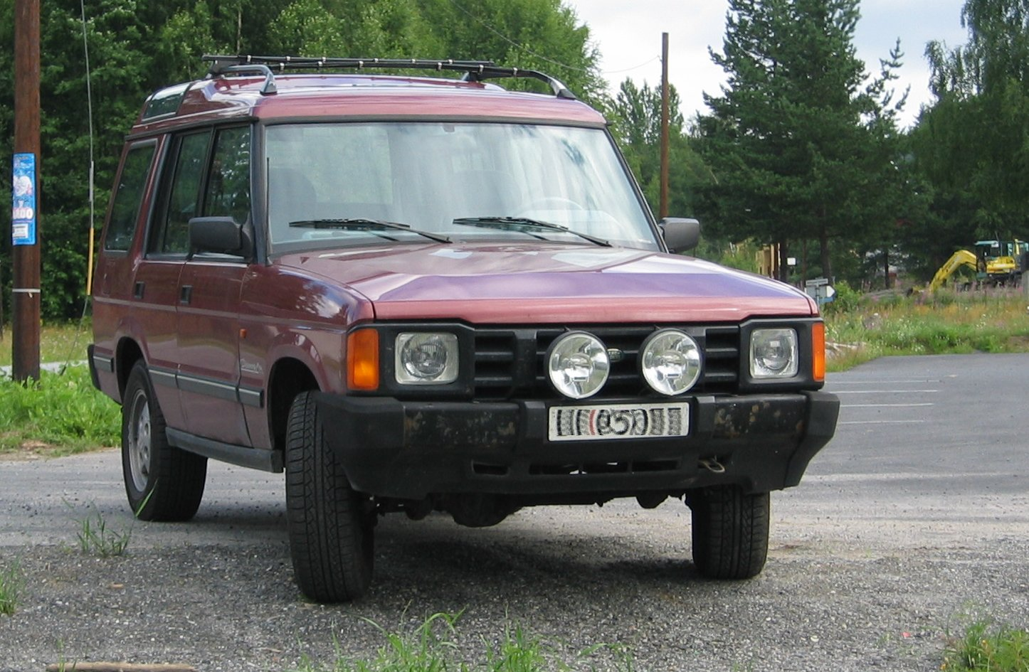 Rover Discovery photo 01