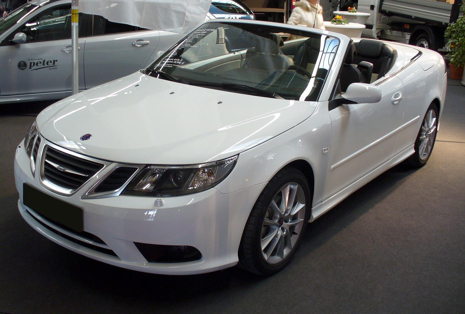 saab 9 3 cabriolet technical details history photos on. Black Bedroom Furniture Sets. Home Design Ideas