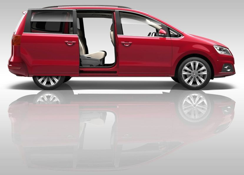 Seat Alhambra 4x4 Technical Details History Photos On