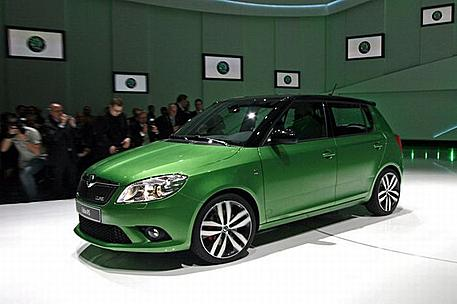 skoda fabia rs technical details history photos on better parts ltd. Black Bedroom Furniture Sets. Home Design Ideas