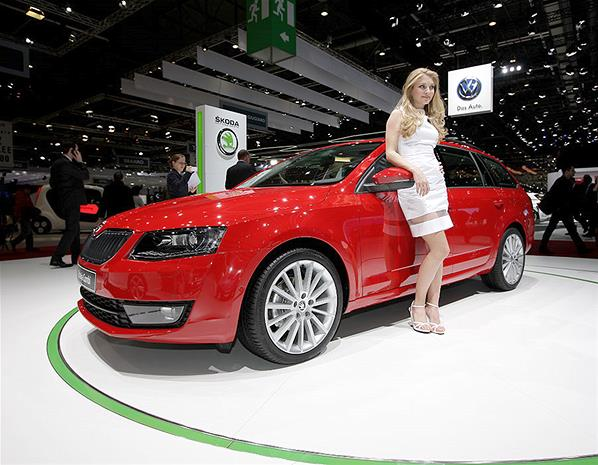 Skoda Octavia Combi Limited Edition GT photo 10