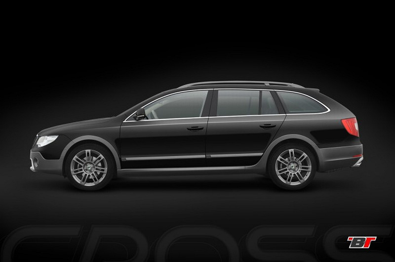 Skoda Superb Combi Outdoor image #8