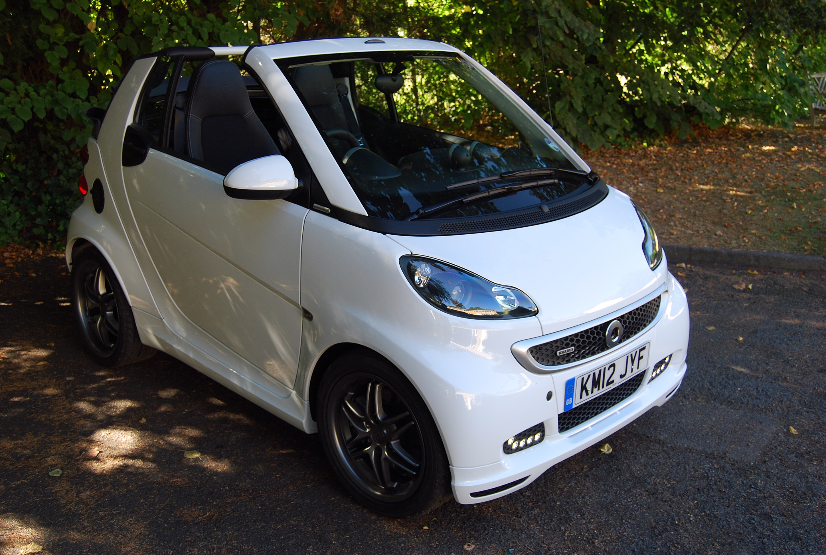 Smart fortwo BRABUS Cabrio technical details, history, photos on ...
