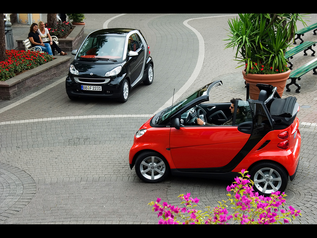 smart fortwo cabrio edition red technical details history photos on better parts ltd. Black Bedroom Furniture Sets. Home Design Ideas