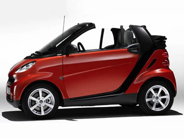 Smart fortwo Cabrio edition red image #3