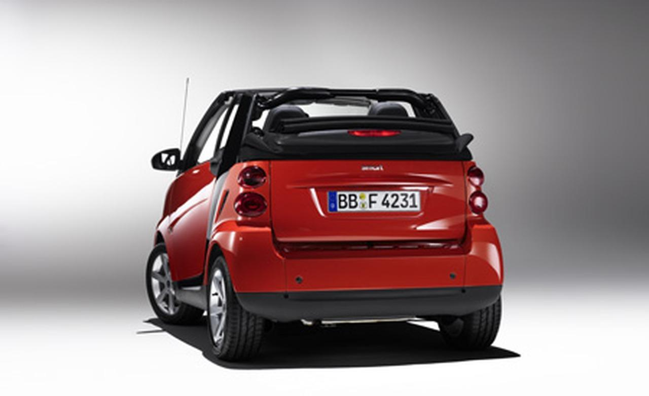Smart fortwo Cabrio edition red image #7