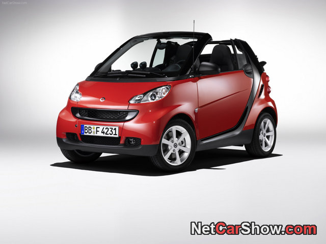 Smart fortwo Cabrio edition red image #9