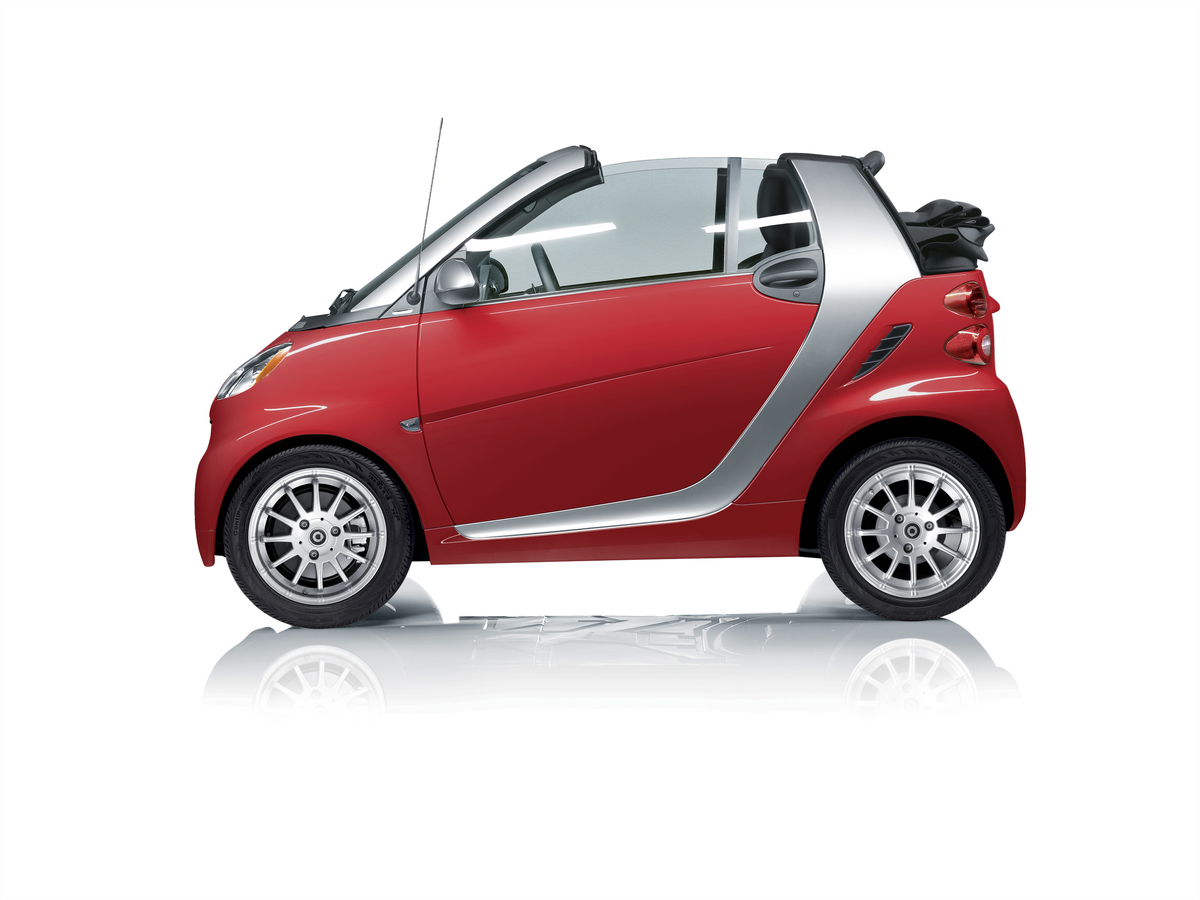 Smart fortwo Cabrio edition red image #11