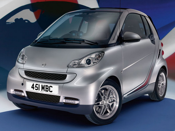 Smart fortwo Cabrio edition red image #14