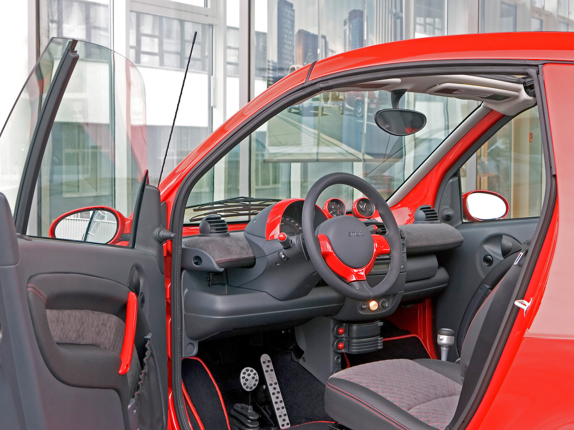 smart fortwo edition red technical details history photos on better parts ltd. Black Bedroom Furniture Sets. Home Design Ideas