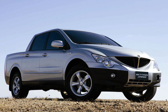 Ssangyong Actyon Sports image #5