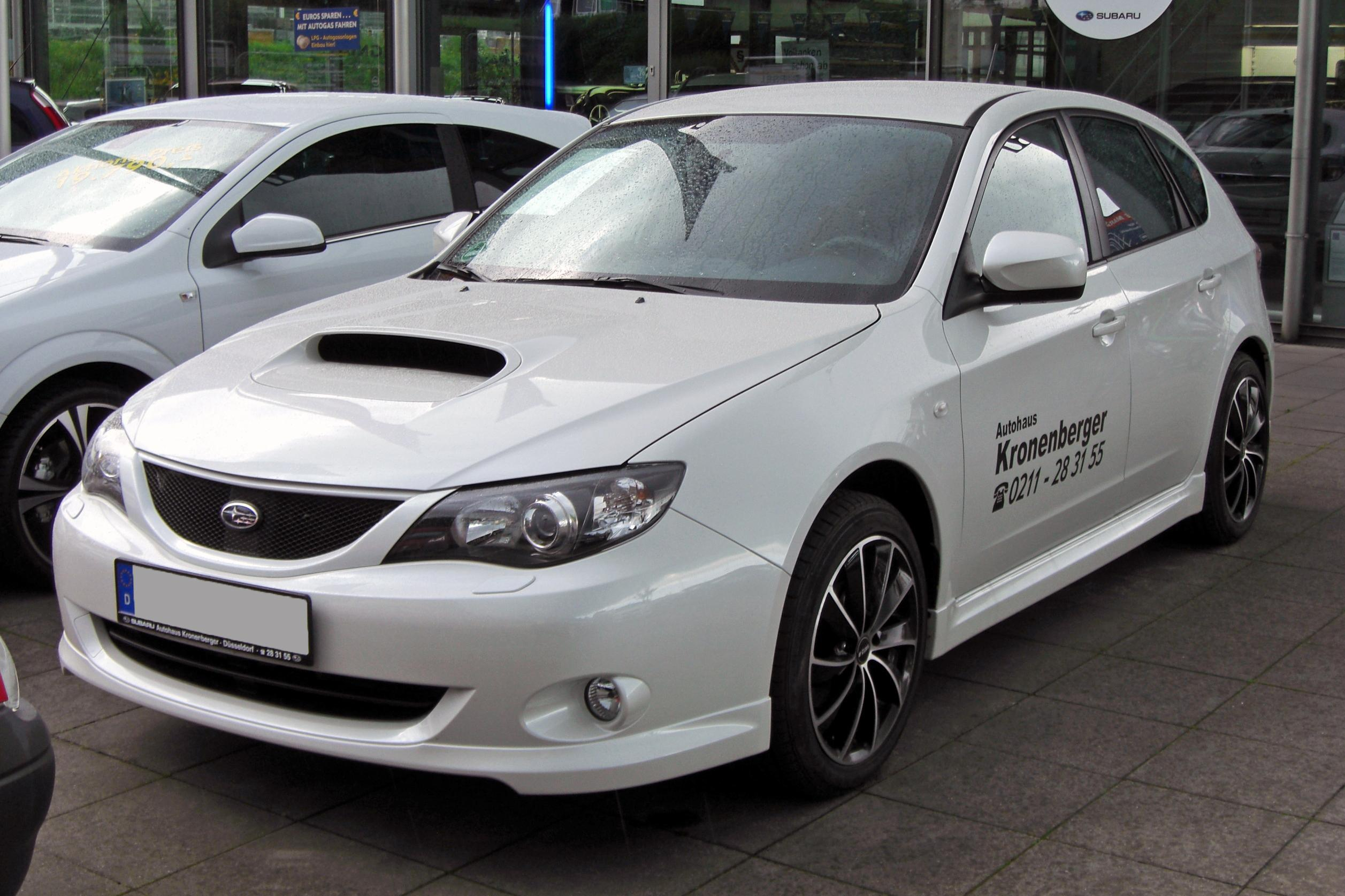 Subaru Impreza 2.0D technical details, history, photos on Better