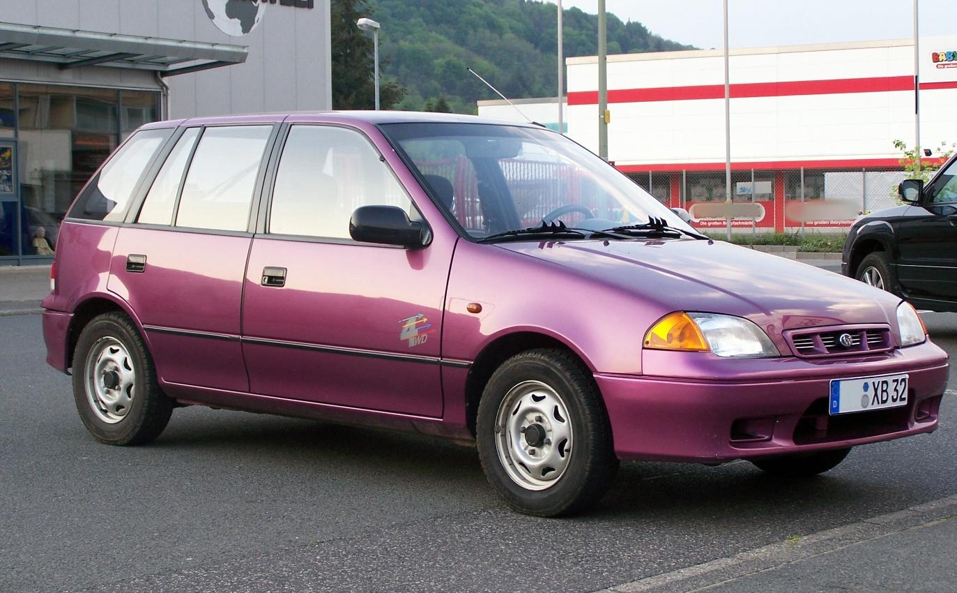 Subaru Justy on 06 Subaru Tribeca Parts