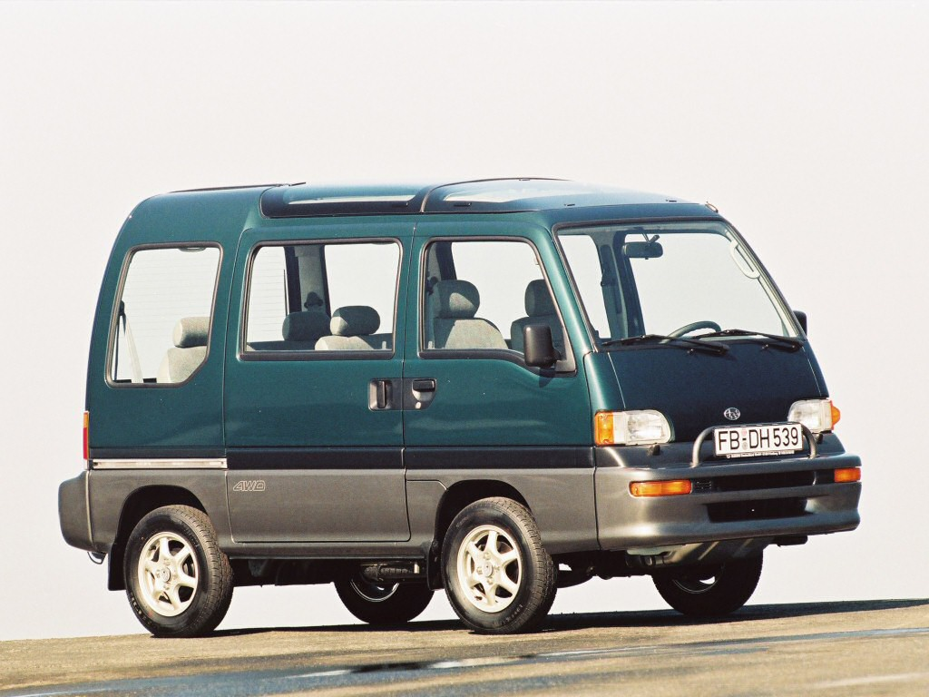Subaru Libero photo 07