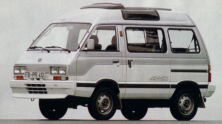 Subaru Libero photo 12