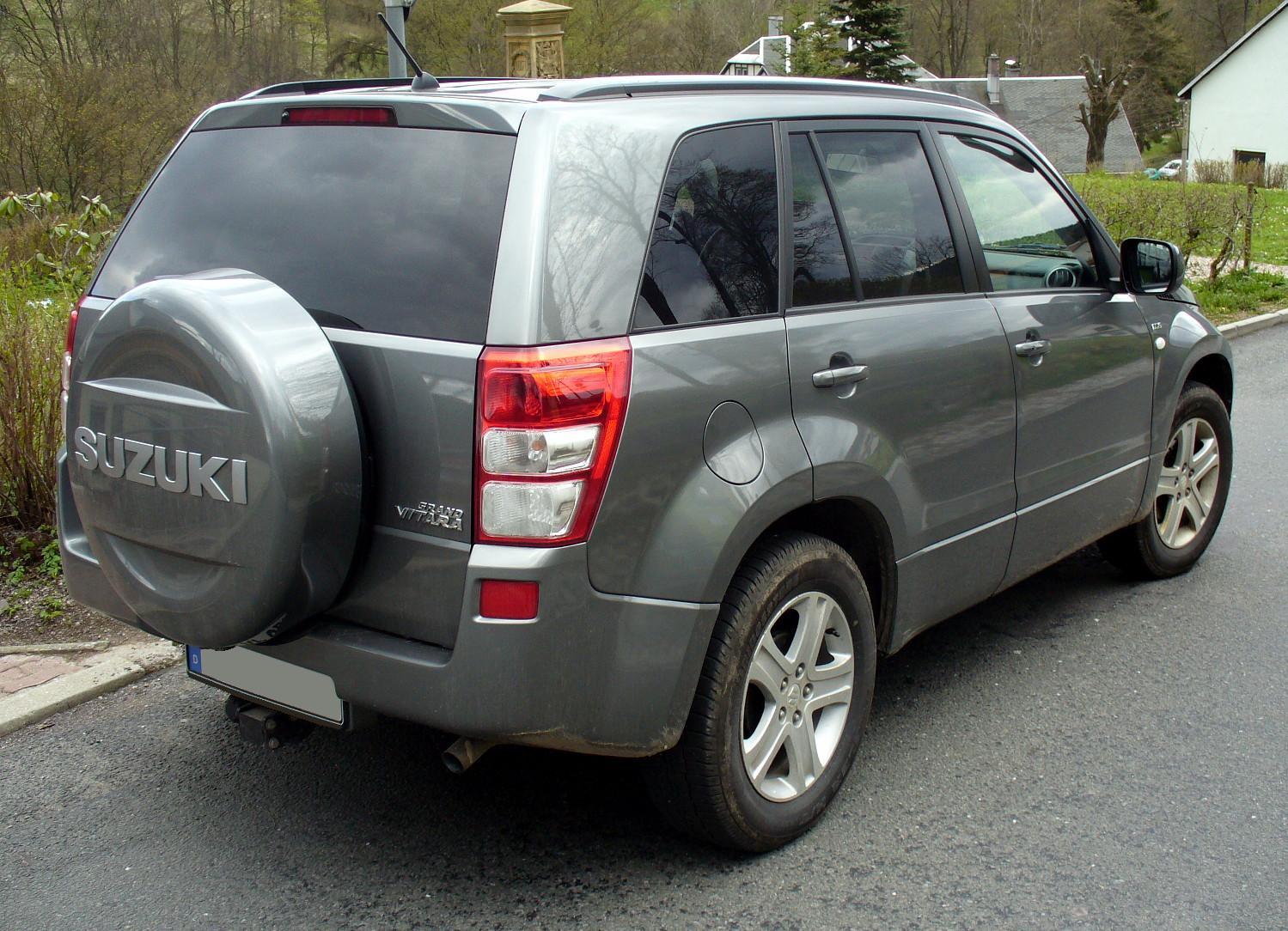 Suzuki grand vitara photo 03