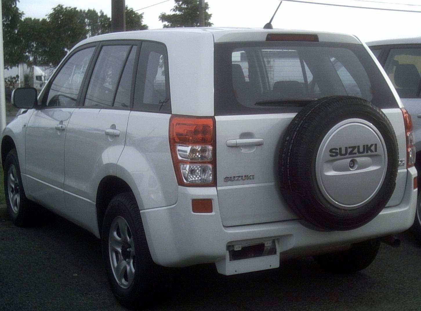Suzuki grand vitara photo 07