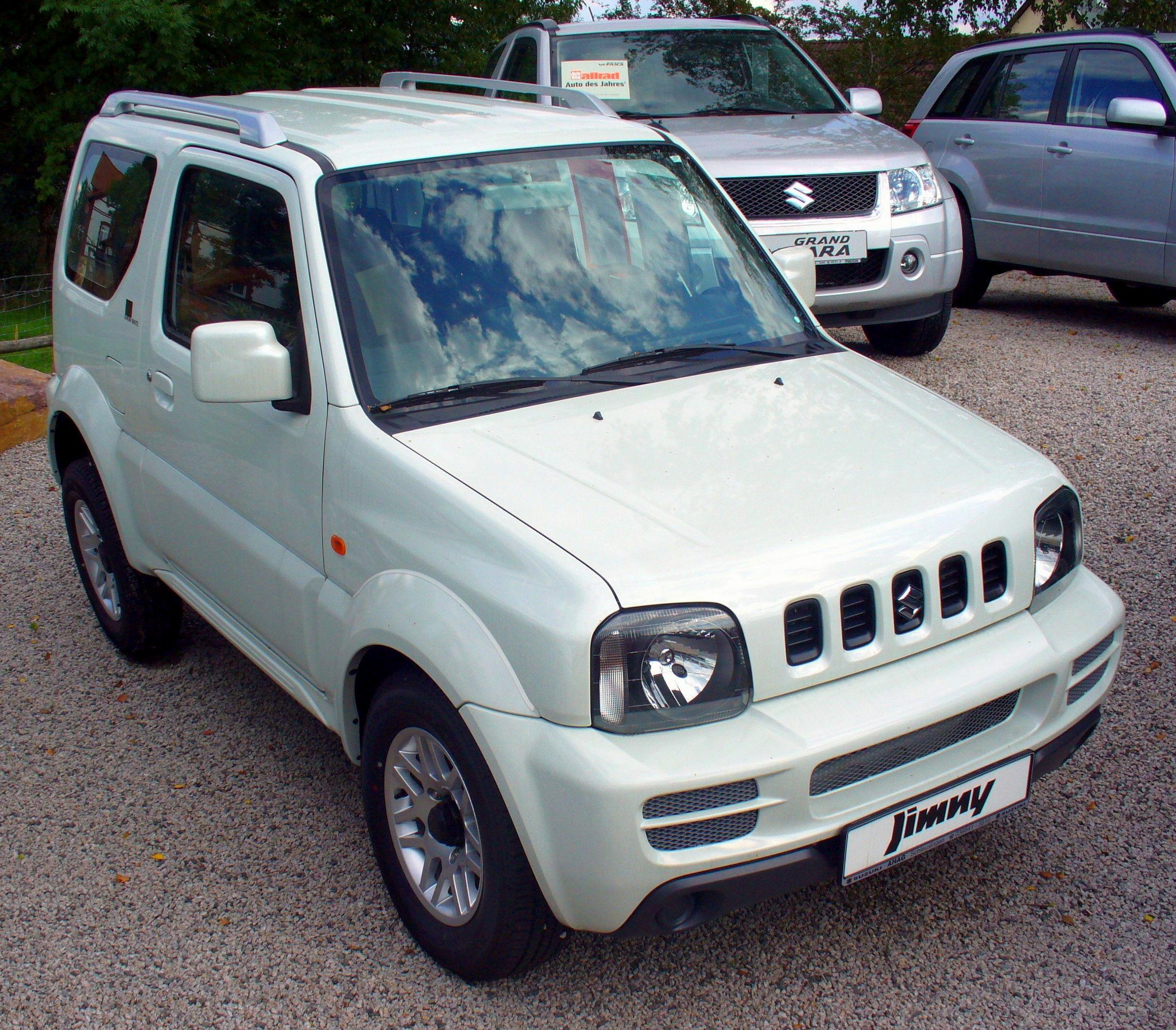 suzuki jimny black white technical details history photos on better parts ltd. Black Bedroom Furniture Sets. Home Design Ideas