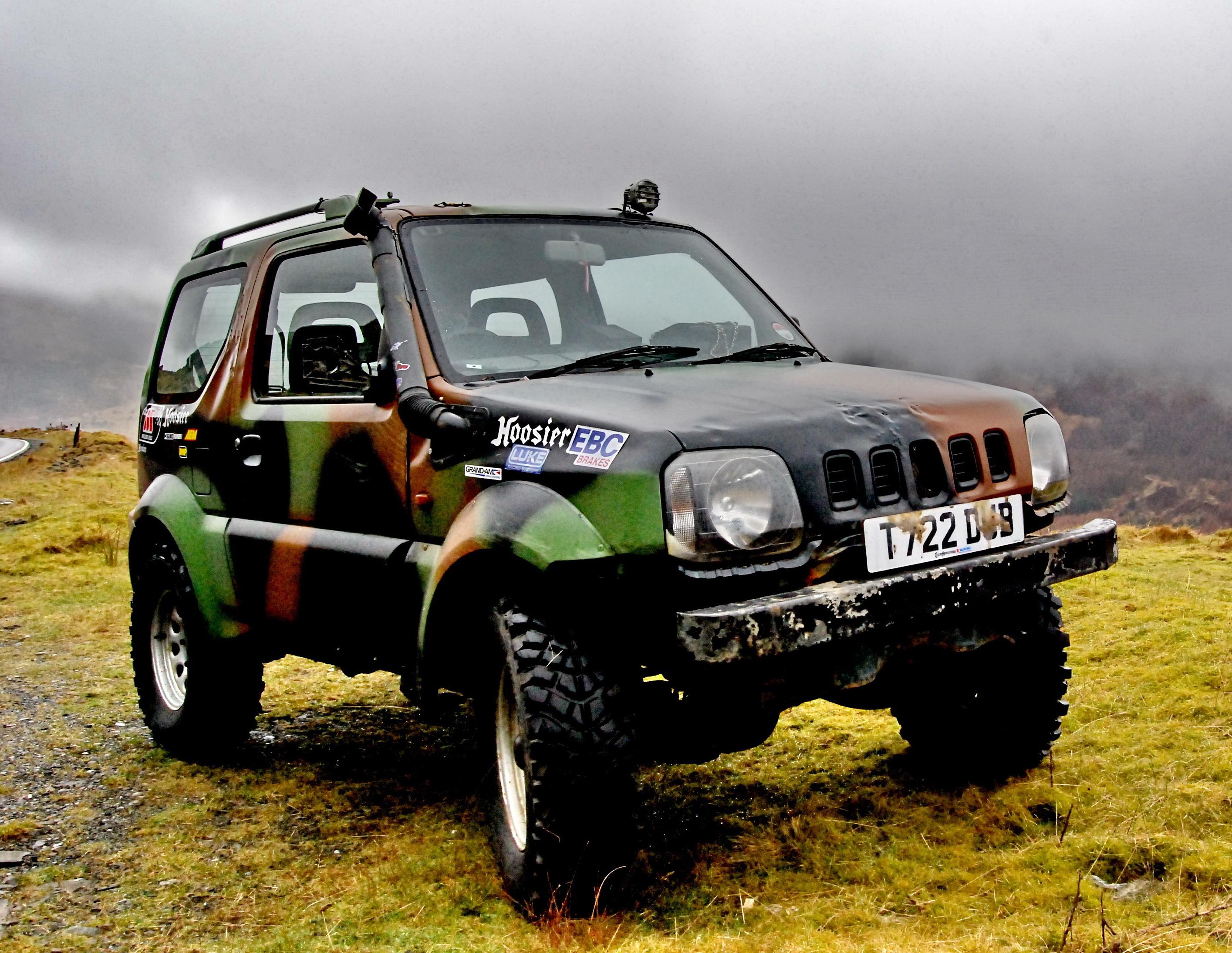 Suzuki Jimny Camouflage Technical Details History Photos