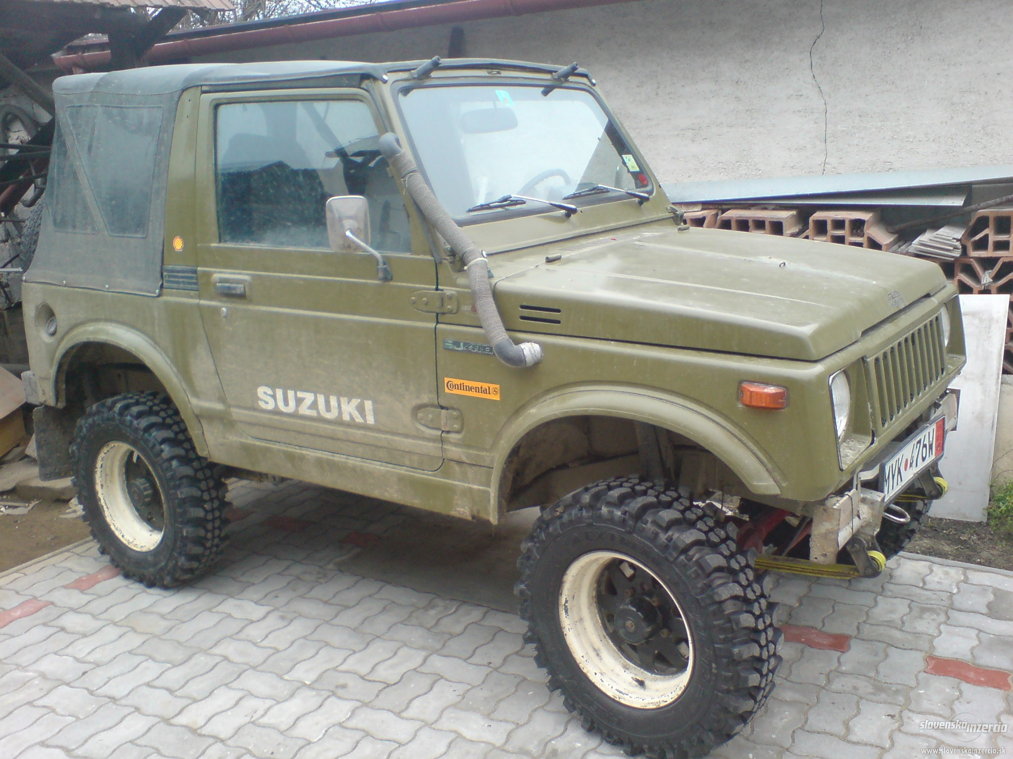 suzuki samurai history photos on better parts ltd. Black Bedroom Furniture Sets. Home Design Ideas