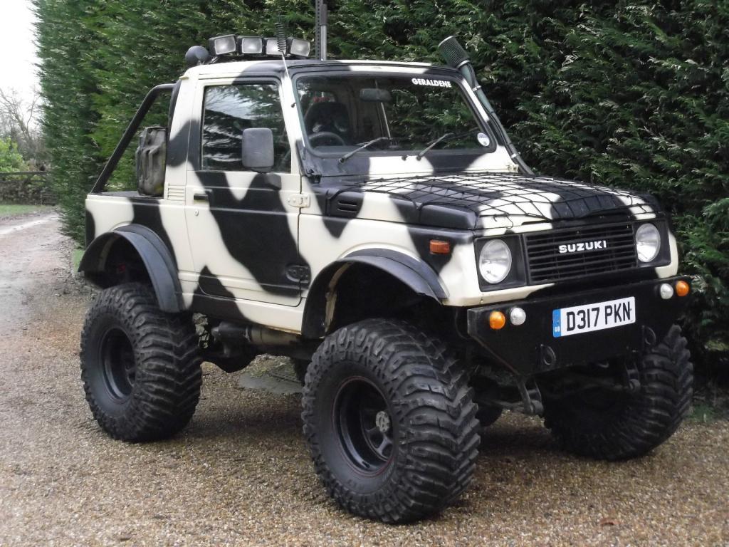 Suzuki SJ 413 technical details, history, photos on Better