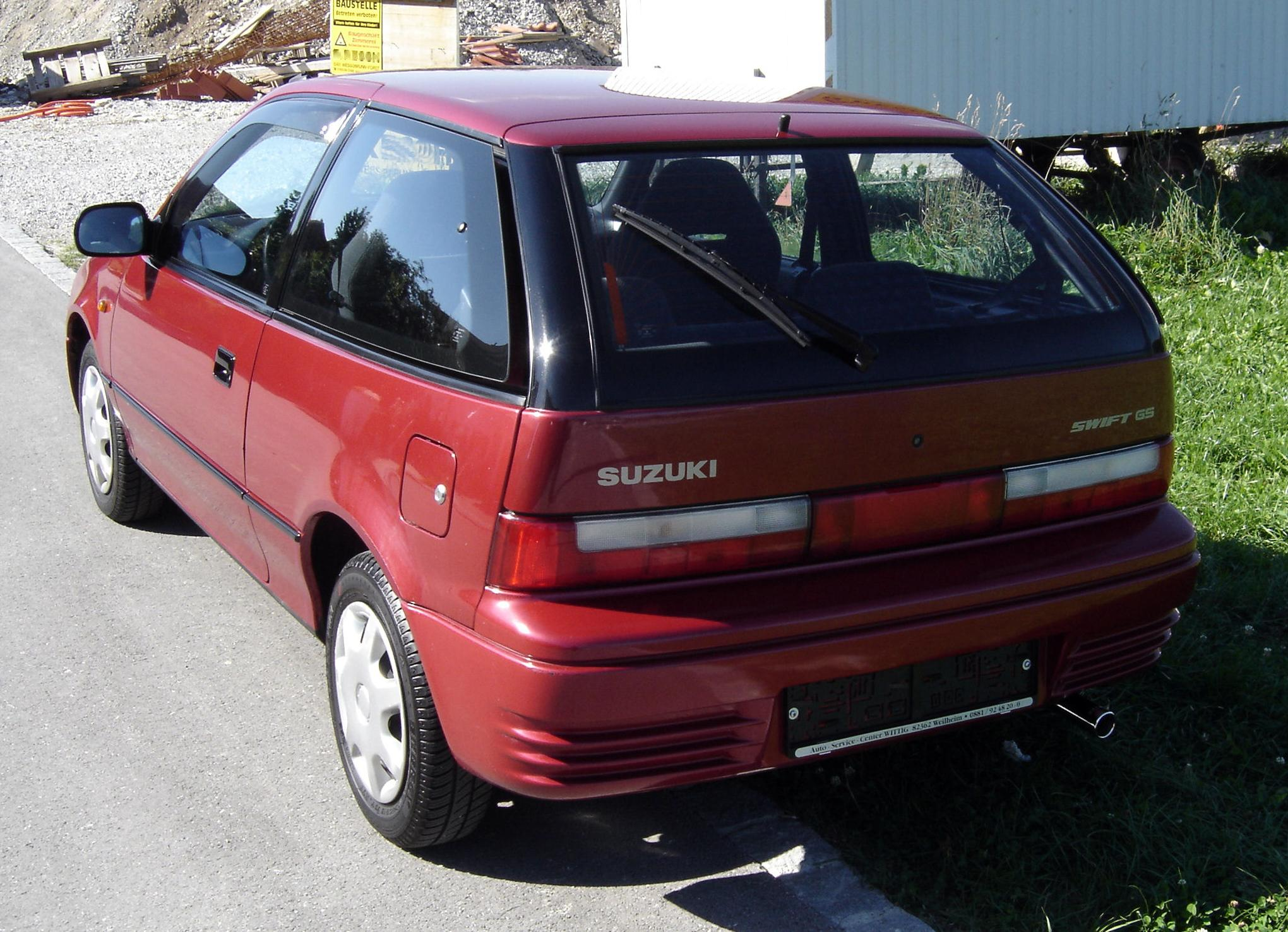 What Is The Weight Of A Suzuki Forsa
