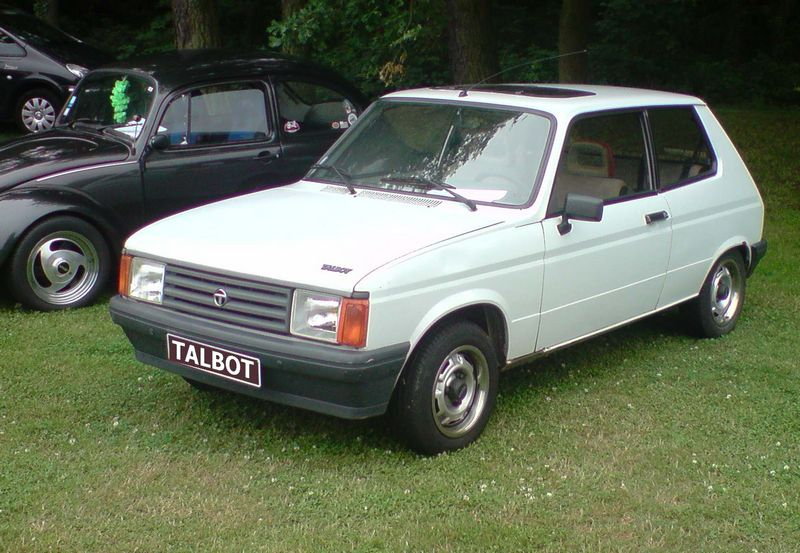 Talbot Samba History Photos On Better Parts Ltd