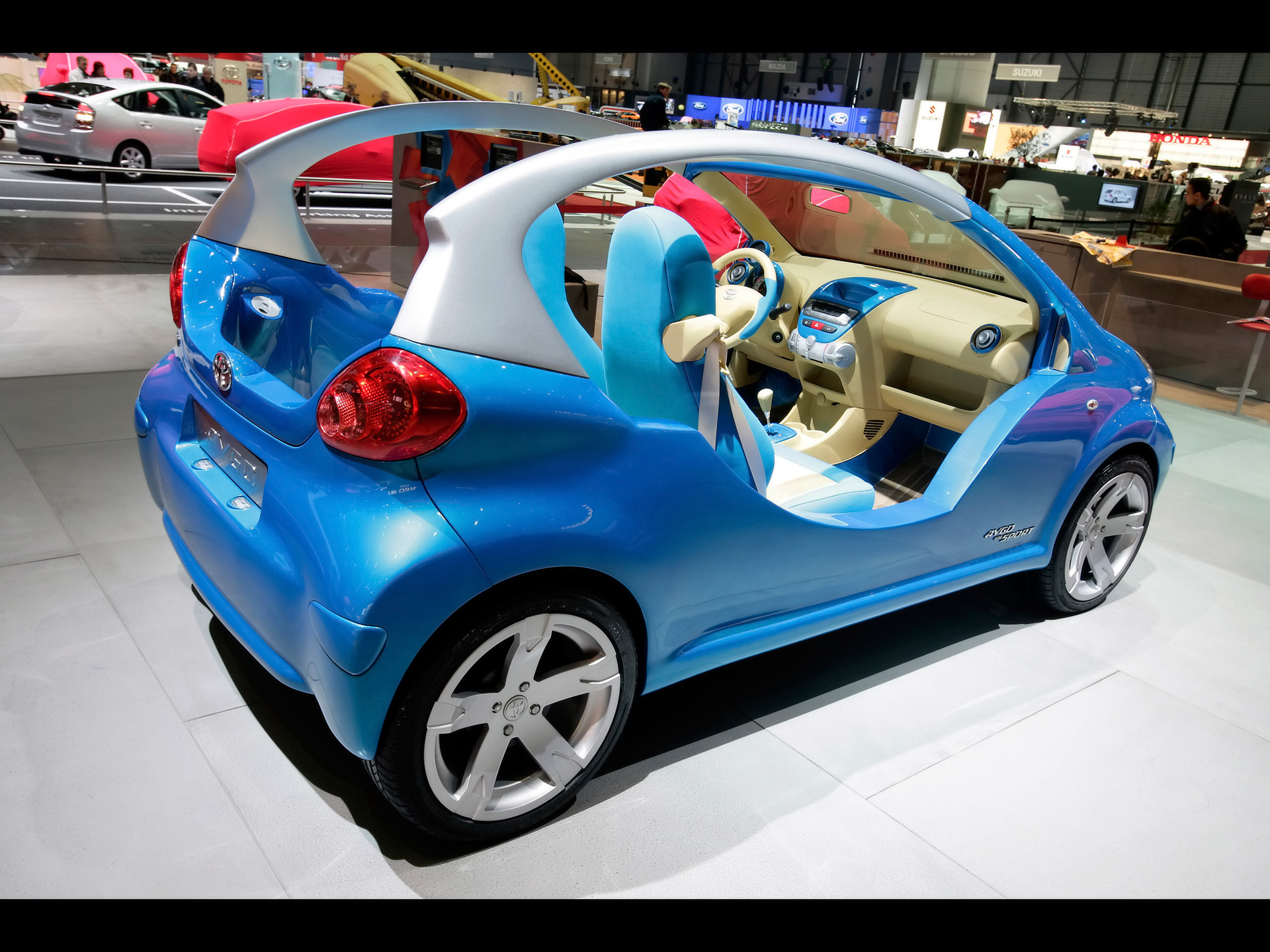 toyota aygo blue technical details history photos on better parts ltd. Black Bedroom Furniture Sets. Home Design Ideas