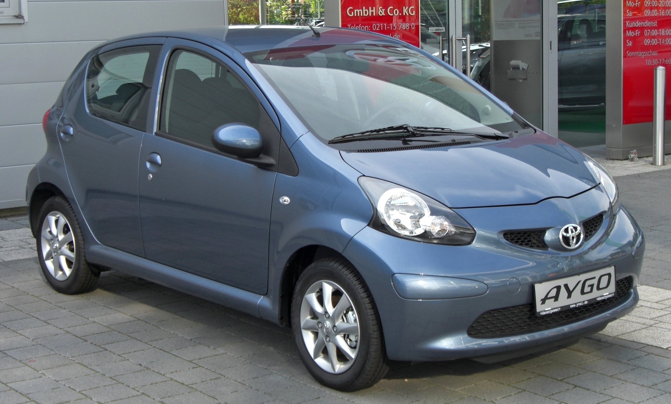 Toyota Aygo Blue Technical Details History Photos On