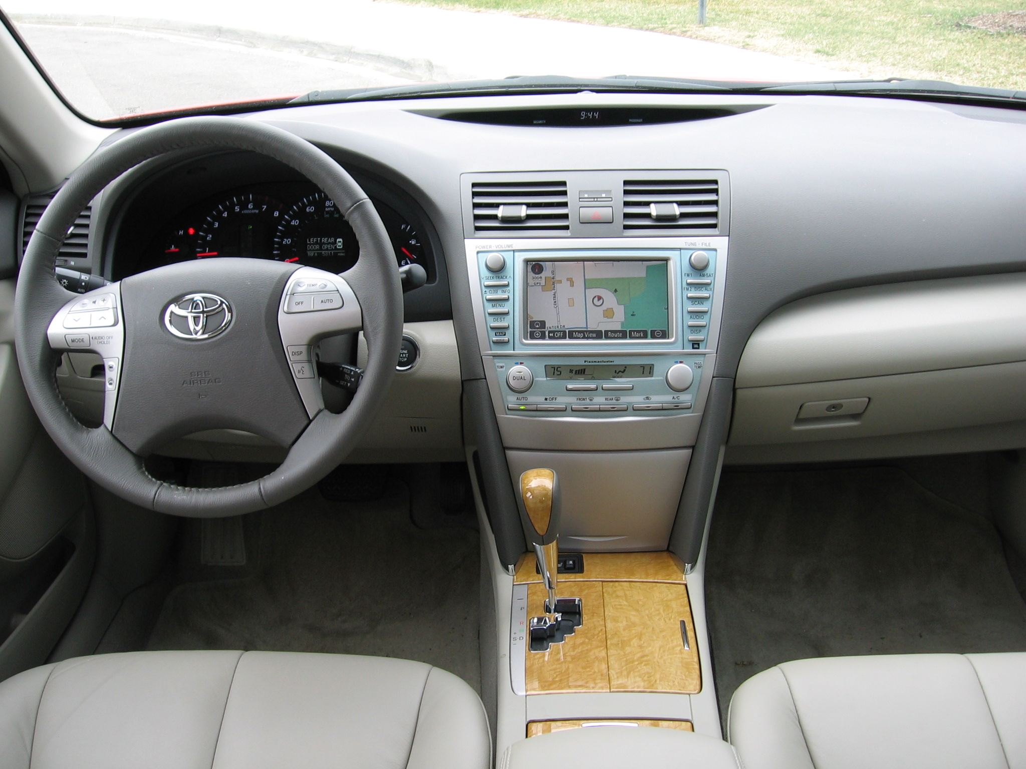 parts tan upgrade complete paul image receives toyota interior trd