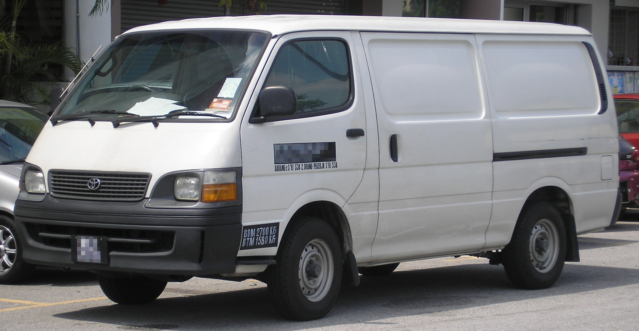 Toyota Hiace photo 09