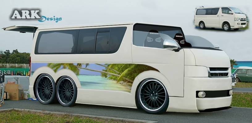 Toyota Hiace photo 15