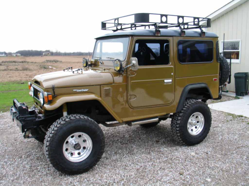 Toyota Land Cruiser Fj40 Technical Details History