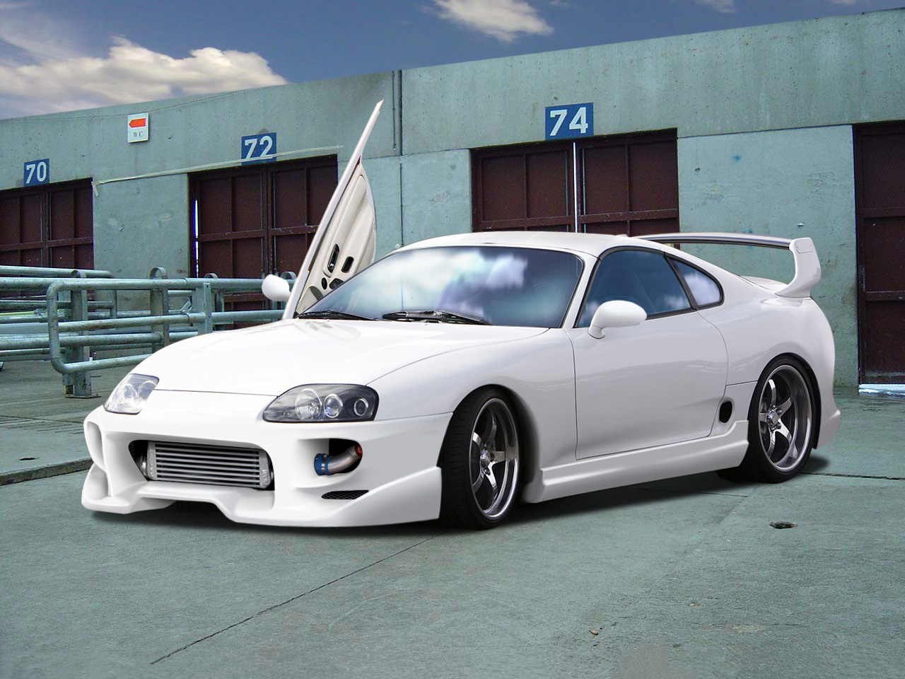toyota supra history  photos on better parts ltd