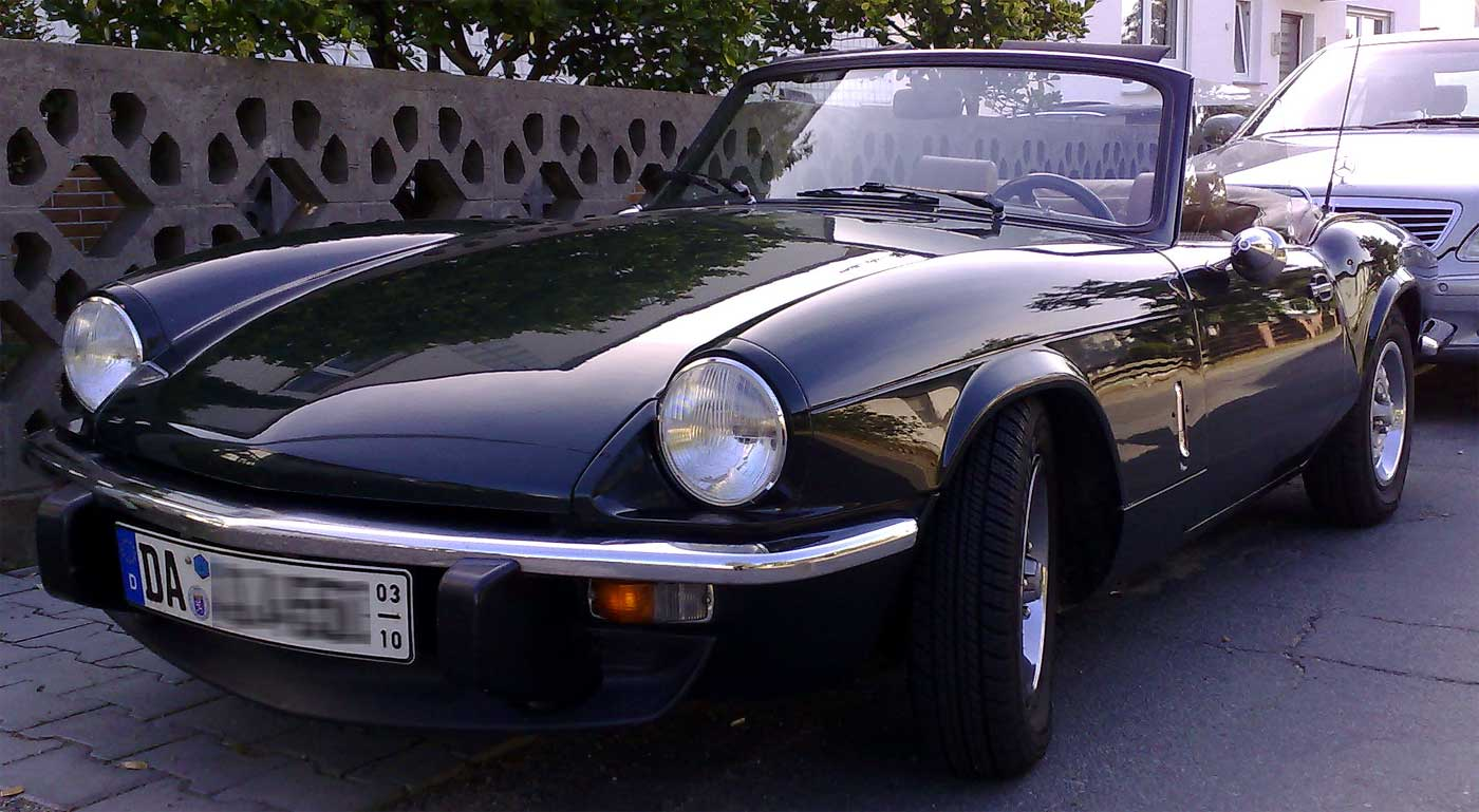 Triumph Spitfire History Photos On Better Parts Ltd