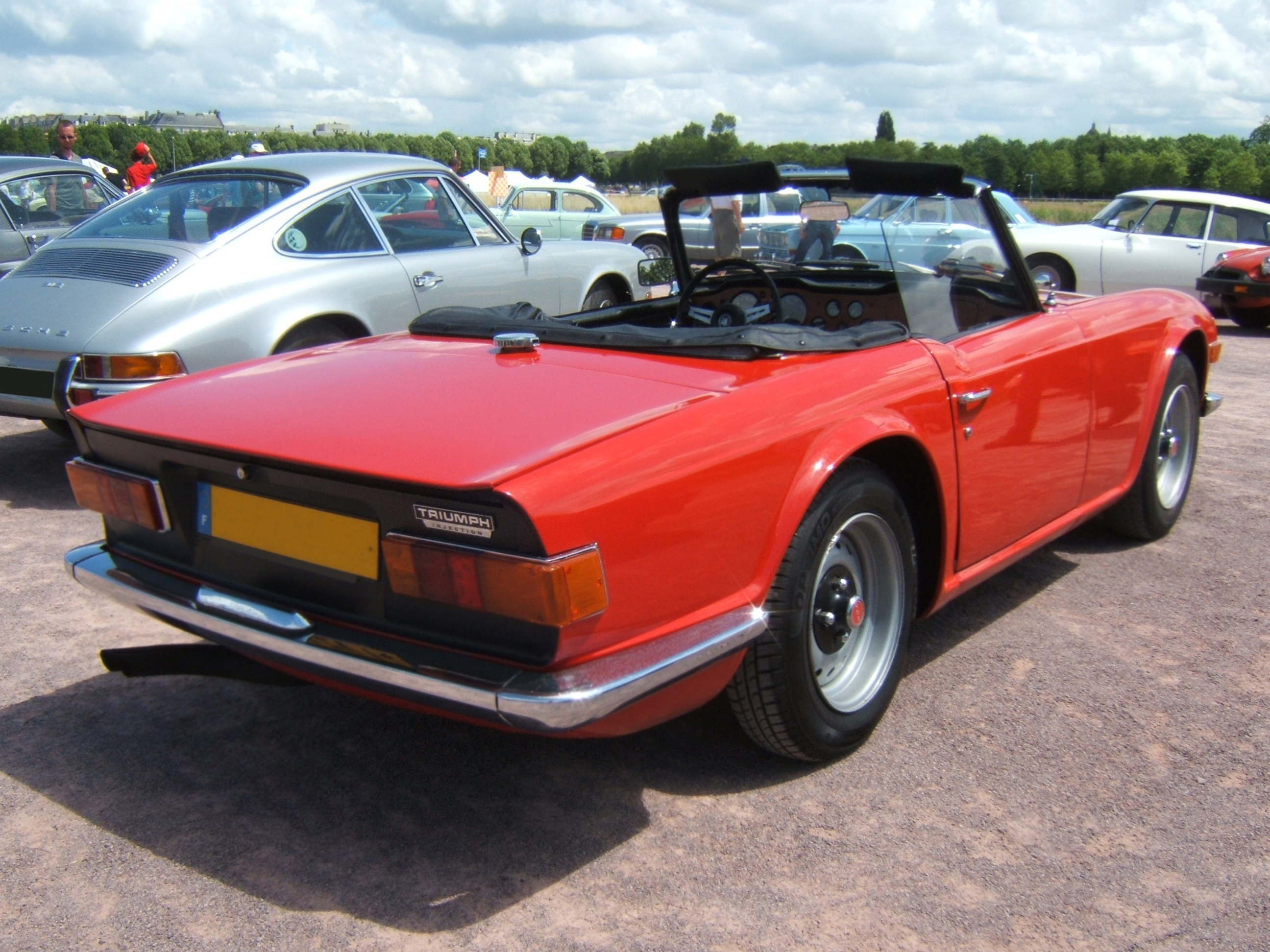 Triumph Tr6 History Photos On Better Parts Ltd