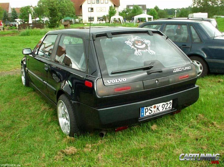 Volvo 480 technical details, history, photos on Better Parts LTD