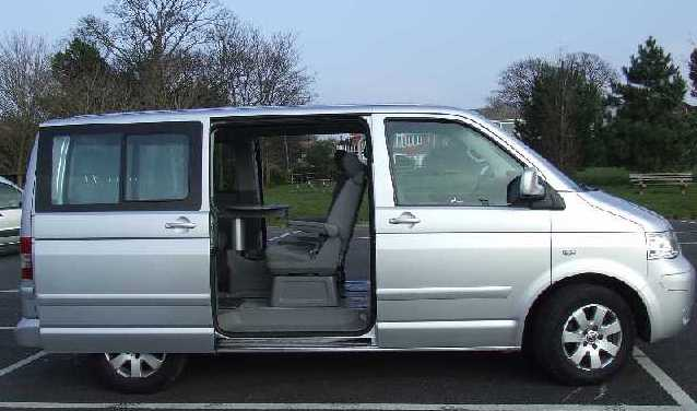 VW Caravelle photo 09
