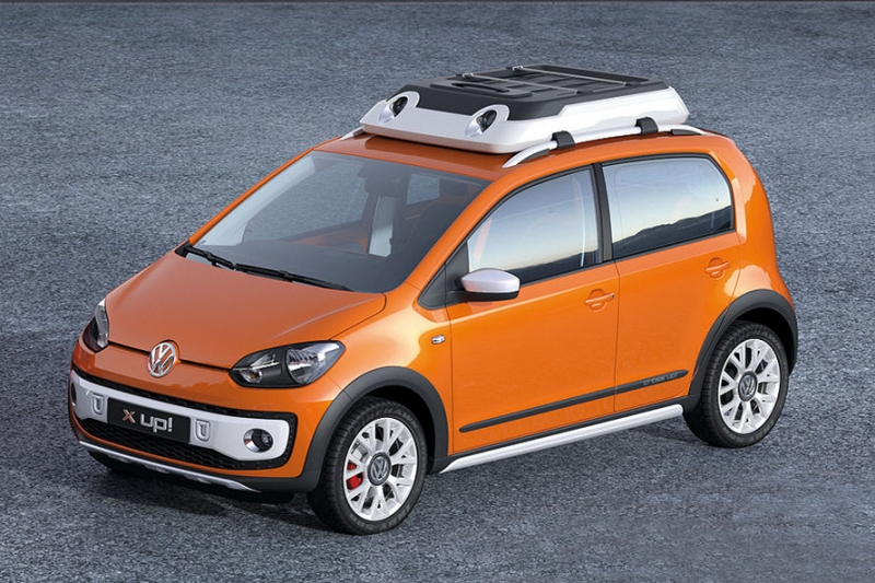 VW cargo up! photo 10