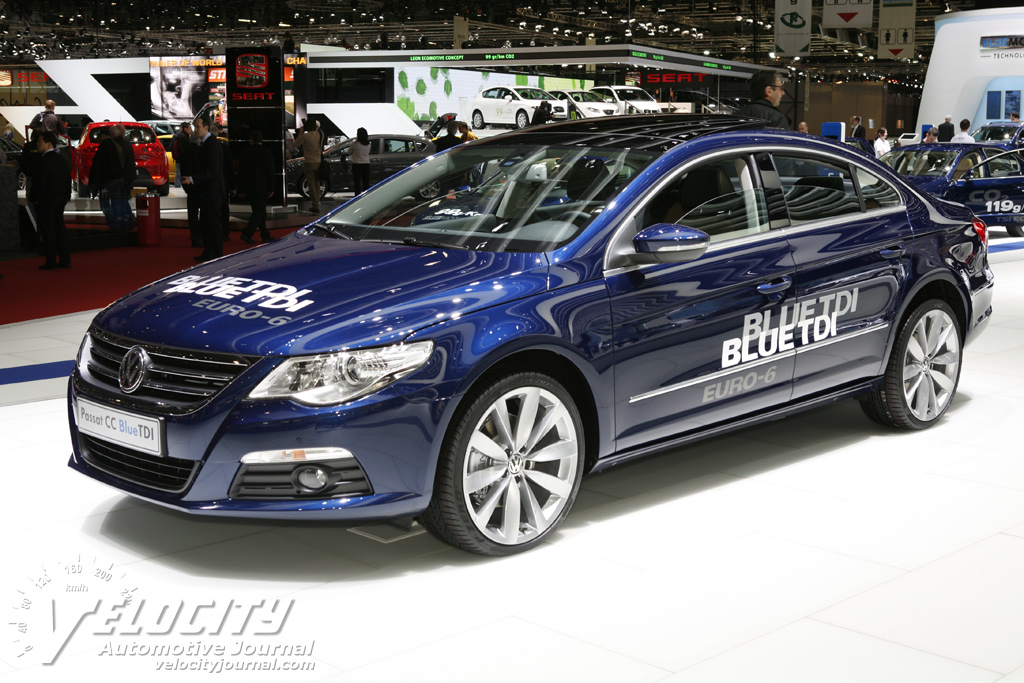 VW CC BlueTDI photo 10